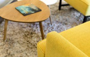 עיצוב סלון ושולחן פרויקט הדירה